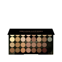 Для глаз Makeup Revolution Ultra 32 Shade Eyeshadow Palette Beyond Flawless (Цвет Beyond Flawless variant_hex_name BE916D) для лица makeup revolution ultra strobe balm palette