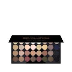 Для глаз Makeup Revolution Ultra 32 Shade Eyeshadow Palette Flawless (Цвет Flawless variant_hex_name 9E9B9D) для глаз catrice the modern matt collection eyeshadow palette 010 цвет 010 the must have matts variant hex name b19f9b
