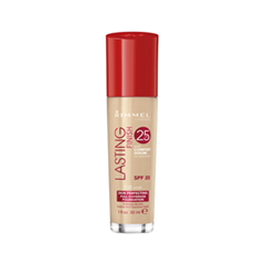 Тональная основа Rimmel Lasting Finish 25H Foundation With Comfort Serum 100 (Цвет 100 Ivory variant_hex_name F5DBB8) тональная основа rimmel lasting finish 25h foundation with comfort serum 200 цвет 200 soft beige variant hex name f5b18c