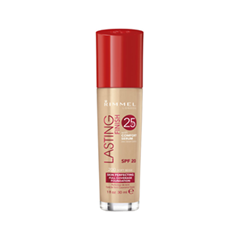 Тональная основа Rimmel Lasting Finish 25H Foundation With Comfort Serum 200 (Цвет 200 Soft Beige variant_hex_name F5B18C)