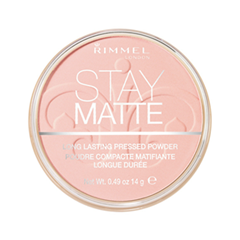 Пудра Rimmel Stay Matte Re-Pack Powder 002 (Цвет 002 Pink Blossom variant_hex_name E6B8A8)