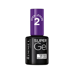 Топы Rimmel Super Gel Top Coat (Объем 12 мл) perrelet a1073 7