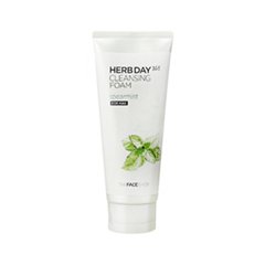 Пенка The Face Shop Herb Day 365 Cleansing Foam Spearmint (Объем 170 мл) 100% original for lenovo s850e s850 lcd screen display with touch screen digitizer assembly black or white free shipping