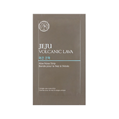 Патчи для носа The Face Shop Jeju Volcanic Lava Aloe Nose Strip (Объем 7 шт) пенка the face shop jeju volcanic lava pore cleansing foam объем 150 мл