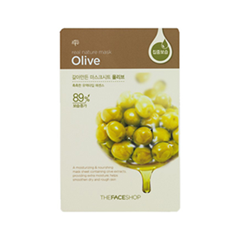 Тканевая маска The Face Shop Real Nature Mask Sheet Olive (Объем 23 г) тканевая маска bioaqua animal tiger supple mask объем 30 г