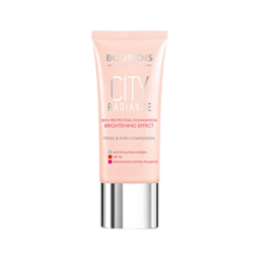 Тональная основа Bourjois City Radiance 01 (Цвет 01 Rose Ivory variant_hex_name F6D2B6) bourjois тональный крем для лица bourjois city radiance тон 06