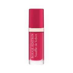 Жидкая помада Bourjois Rouge Edition Souffle de Velvet 05 (Цвет 05 Fuchsiamallo variant_hex_name D90D57 Вес 20.00)