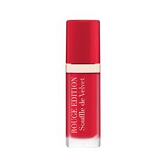 Жидкая помада Bourjois Rouge Edition Souffle de Velvet 06 (Цвет 06 Cherryleaders variant_hex_name CB1238 Вес 20.00)
