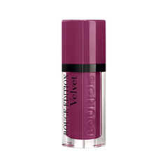 Жидкая помада Bourjois Rouge Edition Velvet 14 (Цвет 14 Plum Plum Girl variant_hex_name 9D375F Вес 10.00)