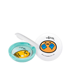 Пудра Holika Holika Gudetama Lazy&Easy Sweet Cotton Sebum Clear Pact (Объем 9 г) бальзам для очистки пор pignose clear black head deep cleansing oil balm holika holika