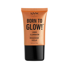 Хайлайтер NYX Professional Makeup Born To Glow Liquid Illuminator 03 (Цвет 03 Pure Gold variant_hex_name F7AA76) праймер nyx professional makeup big