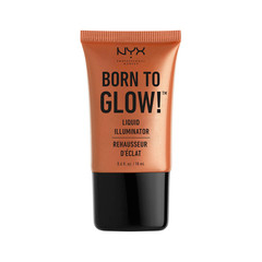 Хайлайтер NYX Professional Makeup Born To Glow Liquid Illuminator 04 (Цвет 04 Sun Goddness variant_hex_name CC8964) праймер nyx professional makeup big