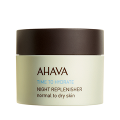 Ночной уход Ahava Крем ночной Time To Hydrate Night Replenisher (Объем 50 мл) ahava time to energize крем для бритья без пены time to energize крем для бритья без пены
