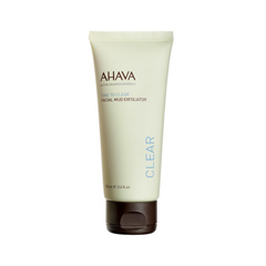 Пилинг Ahava Грязевой пилинг Time to Clear Facial Mud Exfoliator (Объем 100 мл) ahava time to energize крем для бритья без пены time to energize крем для бритья без пены