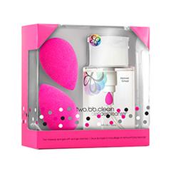 Спонжи и аппликаторы beautyblender Подарочный набор two.bb.clean (Объем 150 мл)