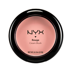 Румяна NYX Professional Makeup Rouge Cream Blush 01 (Цвет 01 Rose Petal variant_hex_name D17673)
