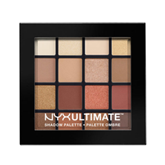 Тени для век NYX Professional Makeup Ultimate Shadow Palette 03 (Цвет 03 Warm Neutrals  variant_hex_name C78B85) тени nyx professional makeup палетка теней perfect filter shadow palette olive you 03