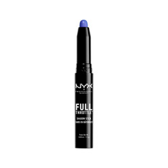 Тени для век NYX Professional Makeup Full Throttle Shadow Stick 07 (Цвет 07 Femme Fatale variant_hex_name 0B6CAF) тени nyx professional makeup палетка теней full throttle shadow palette easy on the eyes 04