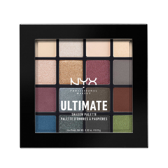 Для глаз NYX Professional Makeup Ultimate Shadow Palette 01 (Цвет 01 Smokey & Highlight variant_hex_name AF8688) тени nyx professional makeup палетка теней perfect filter shadow palette golden hour 01