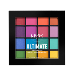 Для глаз NYX Professional Makeup Ultimate Shadow Palette 04 (Цвет 04 Brights variant_hex_name FC7154) тени nyx professional makeup палетка теней perfect filter shadow palette olive you 03