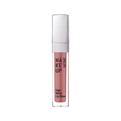 Блеск для губ Make Up Factory High Shine Lip Gloss 38 (Цвет 38 Iridescent Apricot variant_hex_name B36E78) блеск для губ make up secret lip gloss lgm01 цвет lgm01 variant hex name e5bab2