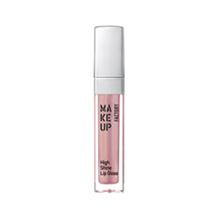 Блеск для губ Make Up Factory High Shine Lip Gloss 45 (Цвет 38 Iridescent Rose variant_hex_name CE9EA1) блеск для губ make up secret lip gloss lgm01 цвет lgm01 variant hex name e5bab2
