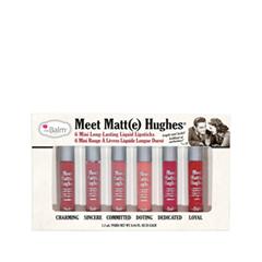 Жидкая помада theBalm Meet Matt(e) Hughes Palette