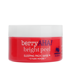 Маска Etude House Berry AHA Bright Peel Sleeping Pack (Объем 200 мл)