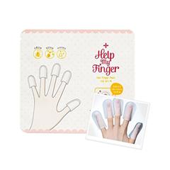 Уход за ногтями Etude House Маска для ногтей Help My Finger Nail Finger Pack (Объем 2*6 мл)