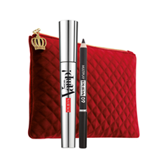 Макияж Pupa Косметический набор Vamp! Mascara + Multiplay Special Size (Объем 9.5 мл+0.8 мл)