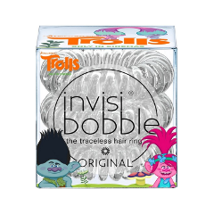 Резинки invisibobble Резинка-браслет для волос Original Trolls (Цвет Trolls variant_hex_name b3b3b5) invisibobble original royal pearl резинка браслет для волос цвет жемчужный