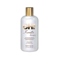 Шампунь CHI Keratin Shampoo (Объем 355 мл) chi keratin reconstructing conditioner