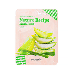 Тканевая маска Secret Key Nature Recipe Mask Pack Aloe (Объем 20 г)
