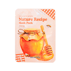 Тканевая маска Secret Key Nature Recipe Mask Pack Honey (Объем 20 г)