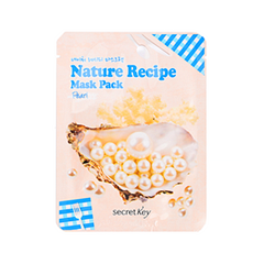 Тканевая маска Secret Key Nature Recipe Mask Pack Pearl (Объем 20 г) тканевая маска bioaqua animal tiger supple mask объем 30 г
