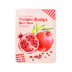 Тканевая маска Secret Key Nature Recipe Mask Pack Pomegranate (Объем 20 г) 200 pcs pack cpr resuscitator keychain mask key ring emergency rescue face shield first aid cpr mask with one way valve
