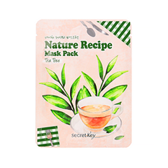 Тканевая маска Secret Key Nature Recipe Mask Pack Tea Tree (Объем 20 г)