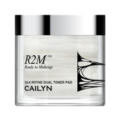 Влажные салфетки Cailyn Тонирующие подушечки R2M Silk Refine Dual Toner Pad (Объем 70 шт.)
