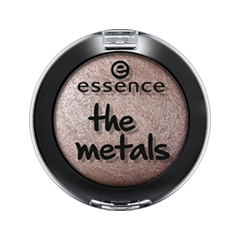 Тени для век essence The Metals Eyeshadow 02 (Цвет 02 Frozen Toffee  variant_hex_name 8C7979) тени для век essence тени хайлайтер hi lighting eyeshadow mousse 02 цвет 02 hi peaches variant hex name f9c4af