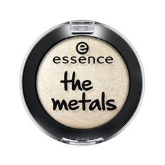 Тени для век essence The Metals Eyeshadow 07 (Цвет 07 Vanilla Brilliance  variant_hex_name FEF6EB) тени для век essence the metals eyeshadow 06 цвет 06 rose razzle dazzle variant hex name e9bfbb