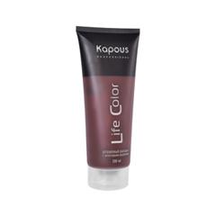 Временное окрашивание Kapous Бальзам оттеночный Life Color Коричневый (Объем 200 мл) бальзам lv бальзам для волос объем 200 мл