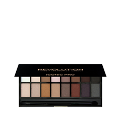 Для глаз Makeup Revolution Iconic Pro Palette 1 (Цвет 1 variant_hex_name 6B3A30) для глаз makeup revolution ultimate iconic 144 palette