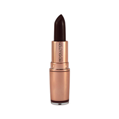 Помада REVOLUTION Makeup Rose Gold Lipstick Private Members Club (Цвет Private Members Club variant_hex_name 3F1C32)