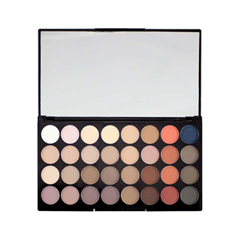 Для глаз Makeup Revolution Ultra 32 Shade Eyeshadow Palette Flawless Matte 2 (Цвет Flawless Matte 2 variant_hex_name F98B74) для глаз makeup revolution ultra brow palette fair to medium цвет fair to medium variant hex name ae9383