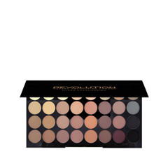 Для глаз REVOLUTION Makeup Ultra 32 Shade Eyeshadow Palette Flawless Matte (Цвет Flawless Matte variant_hex_name FEEFC4) jx1105 qfp
