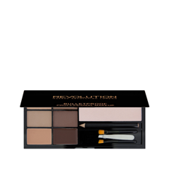 Для глаз Makeup Revolution Ultra Brow Palette Fair to Medium (Цвет Fair to Medium variant_hex_name AE9383) для глаз makeup revolution ultra brow palette fair to medium цвет fair to medium variant hex name ae9383