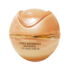 Крем FarmStay Visible Difference Whitening Collagen Cream (Объем 50 г)
