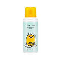 Пенка Holika Holika Gudetama Lazy&Joy White Mousse Foam (Объем 120 мл) holika holika soda tok tok clean pore deep cleansing foam пенка глубоко очищающая для лица 150 мл