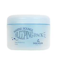 Ночная маска The Skin House House Marine Bounce Sleeping Pack (Объем 100 мл)