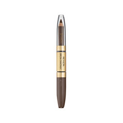 Карандаш для бровей Revlon ColorStay™ Brow Fantasy™ Pencil & Gel 106 (Цвет 106 Dark Brown variant_hex_name 79655F) карандаш для бровей revlon colorstay™ brow fantasy™ pencil